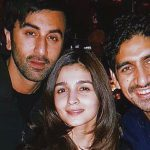 Brahmastra: Alia Bhatt-Ranbir Kapoor are all smiles as they pose with Ayan Mukherji in BTS pics.